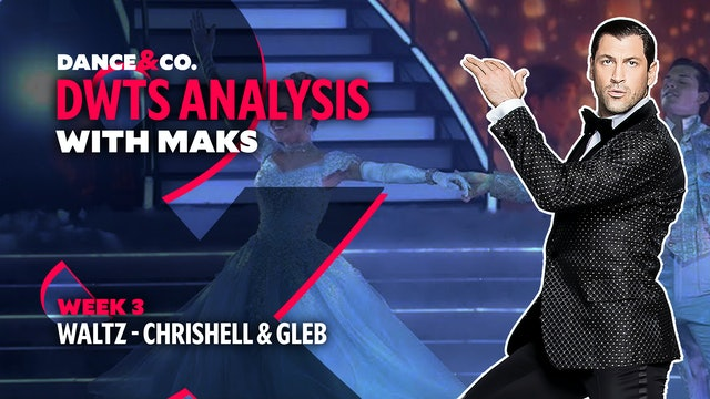 DWTS MAKS ANALYSIS: Week 3 - Chrishell Stause & Gleb Savchenko's Waltz
