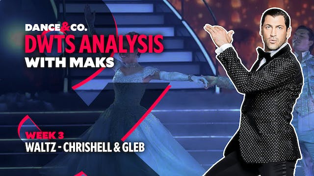 DWTS MAKS ANALYSIS: Week 3 - Chrishel...