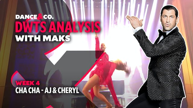 DWTS MAKS ANALYSIS: Week 4 - AJ Mclea...
