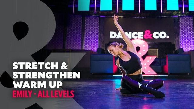 TRAILER: Emily - Stretch & Strengthen Warm Up - All Levels
