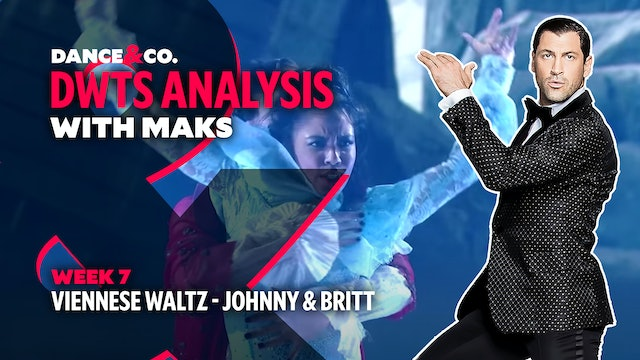 DWTS MAKS ANALYSIS: Week 7 - Johnny Weir & Britt Stewart's Viennese Waltz