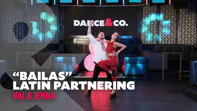 """Val & Jenna - """"Bailas"""" - Latin Partnering Level 3"""