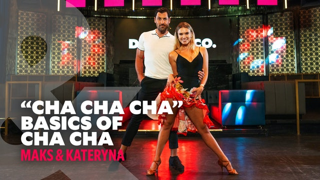 "Maks & Kateryna - ""Cha Cha Cha"" - Cha Cha Basics Level 1"