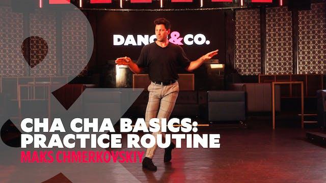"""Cha Cha Basics - """"Practice Routine"""" w..."""