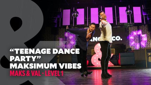 TRAILER: Maks & Val - Maksimum Vibes: Teenage Dance Party - Level 1