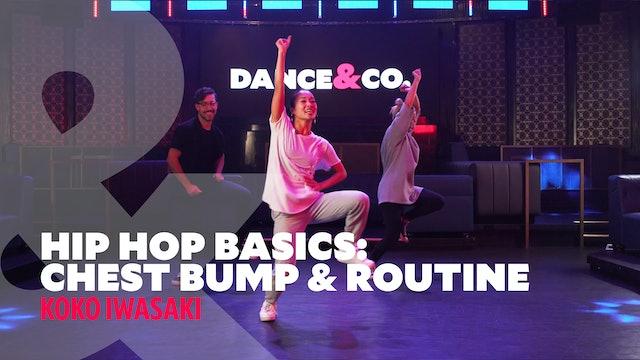 "Hip Hop Basics - ""Chest Bump"" & Full Routine w/ Koko Iwasaki (5 of 5)"
