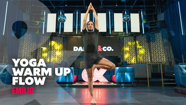 Emilio - Warm Up Yoga Flow