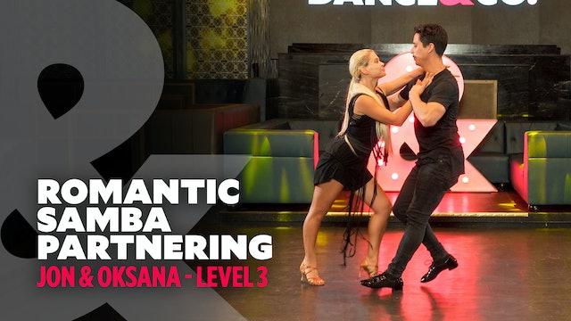 "TRAILER: Jon & Oksana - ""Cobarde"" - Romantic Partnering Samba"