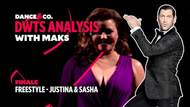 DWTS ANALYSIS: Week 11 - Justina Machado & Sasha Farber Freestyle