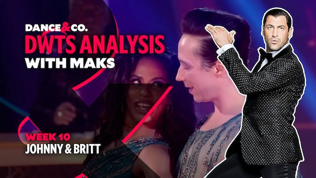 DWTS ANALYSIS: Week 10 - Johnny Weir ...