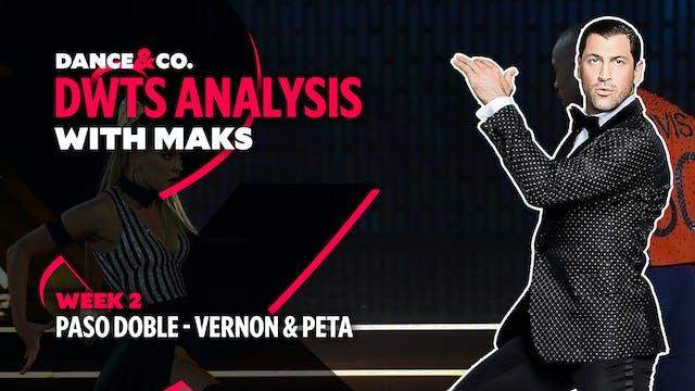 DWTS MAKS ANALYSIS: Week 2 - Vernon D...