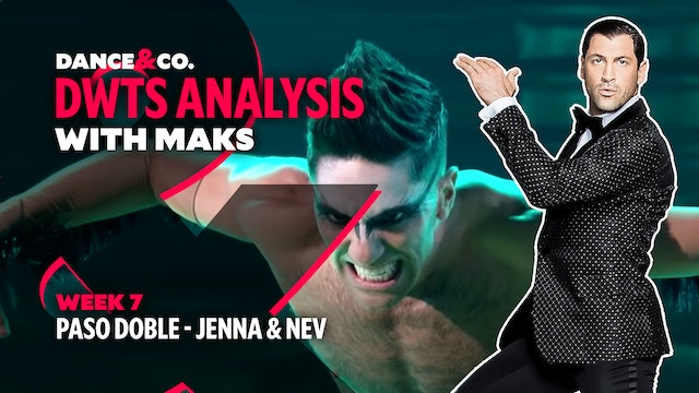 DWTS MAKS ANALYSIS: Week 7 - Nev Schulman & Jenna Johnson's Paso Doble