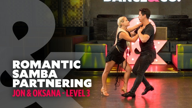 "Jon & Oksana - ""Cobarde"" - Samba Partnering - Level 3"