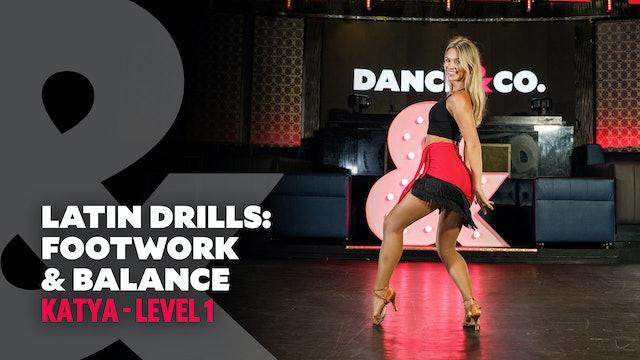 Kateryna - Latin Drills: Footwork & Balance - Level 1