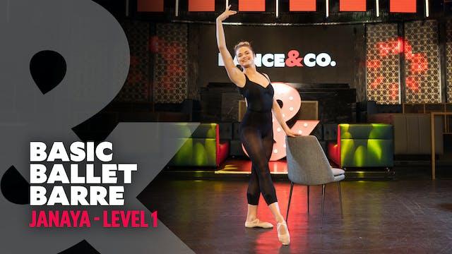 Janaya - Basic Ballet Barre - Level 1
