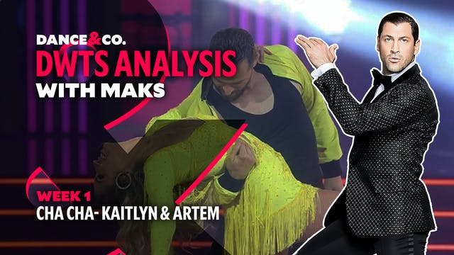 DWTS ANALYSIS: Week 1 - Kaitlyn Brist...
