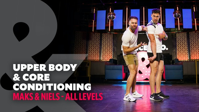 TRAILER: Maks & Niels - Upper Body & Core Conditioning - All Levels
