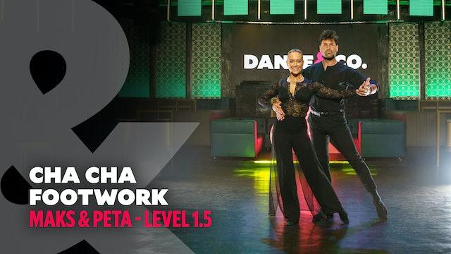 Maks & Peta - Cha Cha Footwork - Level 1.5