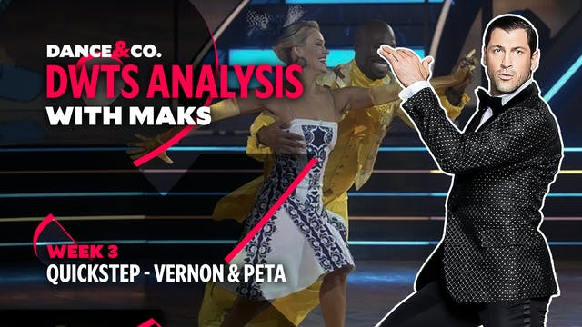 DWTS MAKS ANALYSIS: Week 3 - Vernon D...