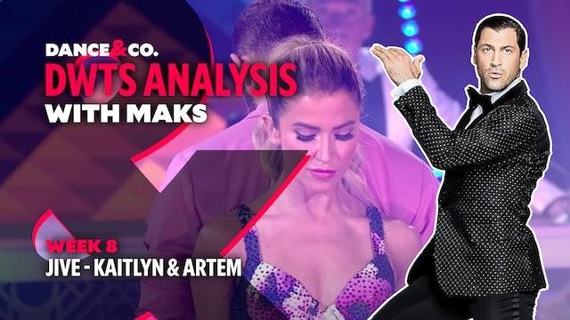 DWTS MAKS ANALYSIS: Week 8 - Kaitlyn Bristowe & Artem Chigvintsev's Jive