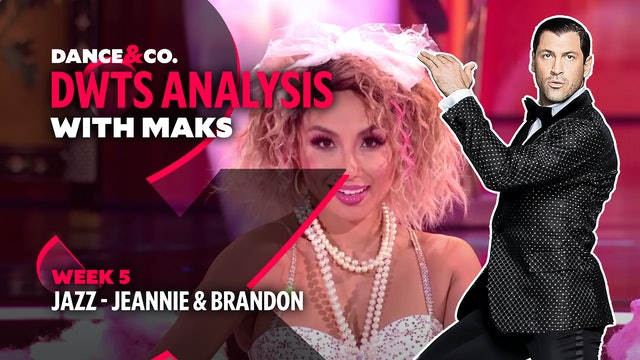 DWTS MAKS ANALYSIS: Week 5 - Jeannie Mai & Brandon Armstrong's Jazz