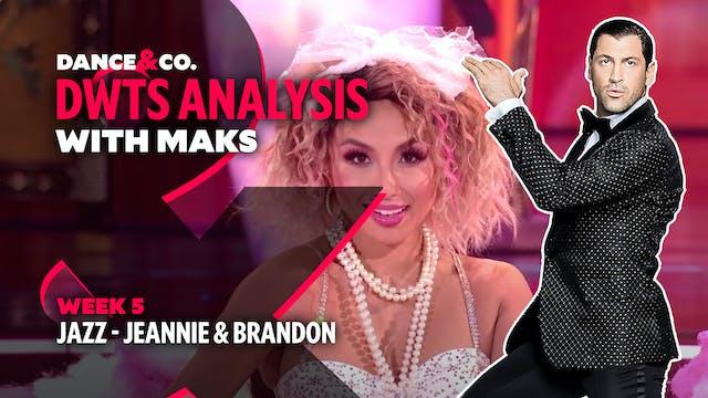 DWTS MAKS ANALYSIS: Week 5 - Jeannie ...