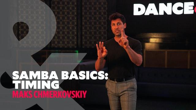 """Samba Basics - """"Basic Timing"""" w/ Maks Chmerkovskiy"""