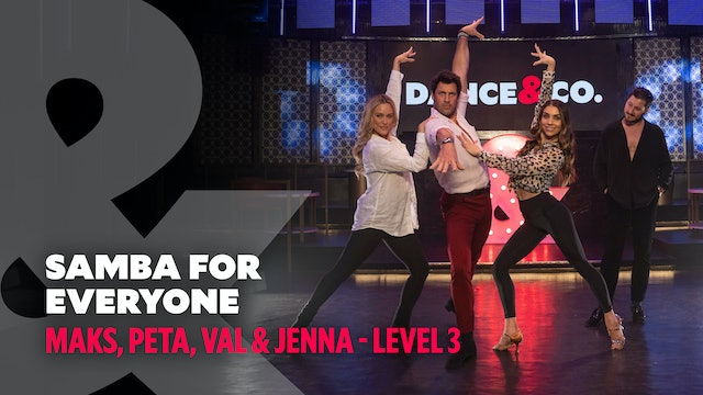 TRAILER: Maks, Peta, Val & Jenna - Samba For Everyone - Level 3