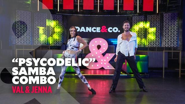 """Val & Jenna - """"Psycodelic"""" - Samba Combo"""