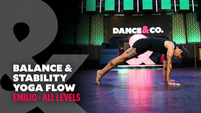 Emilio - Balance & Stability Flow - All Levels