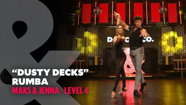 """Maks & Jenna - """"Dusty Decks"""" Rumba - Level 4"""