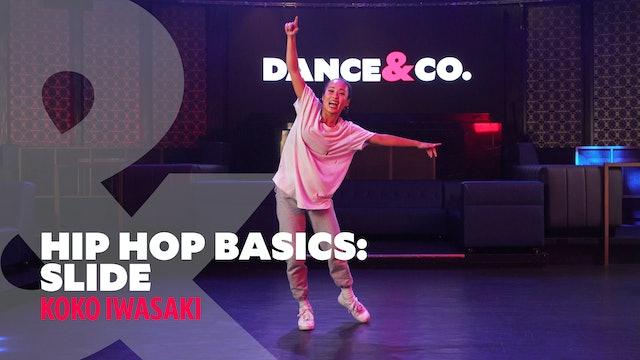 "Hip Hop Basics - ""Slide"" w/ Koko Iwasaki (4 of 5)"