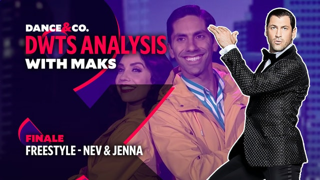 DWTS ANALYSIS: Week 11 - Nev Schulman & Jenna Johnson Freestyle