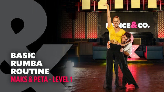 Maks & Peta - Basic Rumba Routine - Level 1
