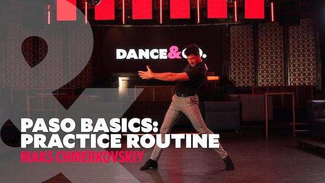 Paso Doble Basics - Practice Routine w/ Maks Chmerkovskiy
