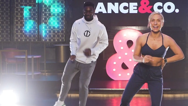 BLOOPERS: Sharna HIIT Jive ft. Keo