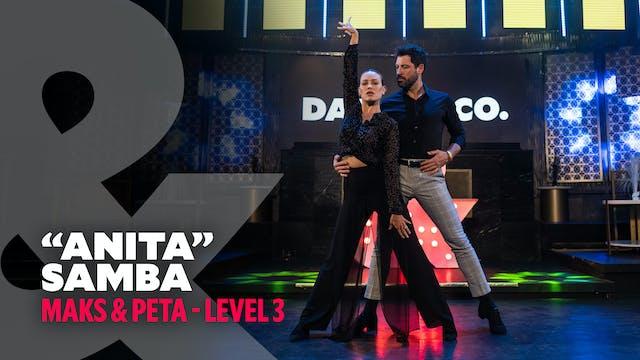 "Maks & Peta - ""Anita"" - Samba Level 3"