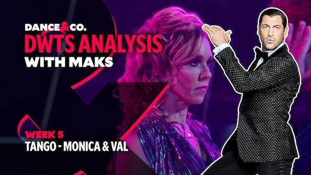 DWTS ANALYSIS: Week 5 - Monica Aldama...