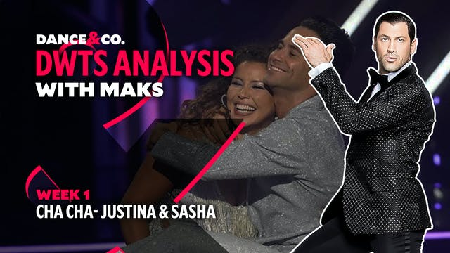 DWTS ANALYSIS: Week 1 - Justina Macha...