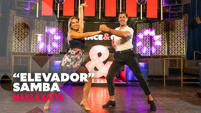"""Maks & Kateryna - """"Elevador"""" - Samba - Level 1"""