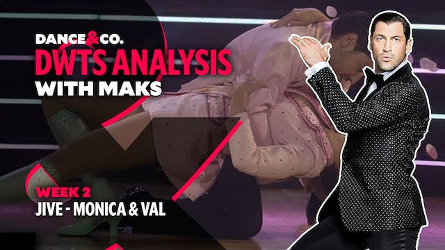 DWTS ANALYSIS: Week 2 - Monica Aldama...