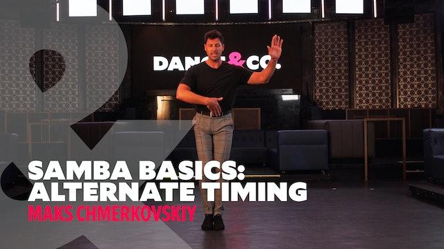 """Samba Basics - """"Alternate Timing"""" w/ Maks Chmerkovskiy"""