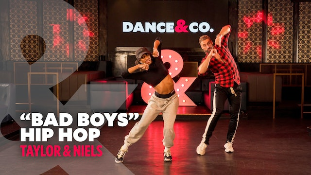 "Taylor & Niels - ""Bad Boys"" - Hip Hop Level 2.5"