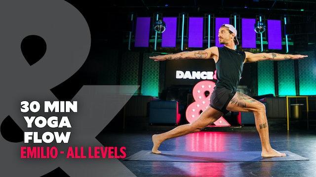 Emilio - 30 Minute Yoga Flow - All Levels