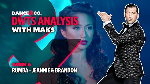 DWTS MAKS ANALYSIS: Week 6 - Jeannie ...