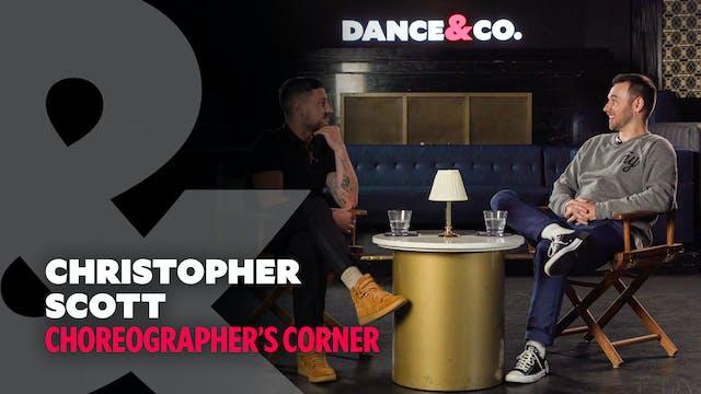 Choreographer's Corner: Christopher S...