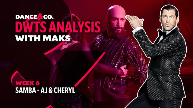 DWTS MAKS ANALYSIS: Week 6 - AJ Mclea...
