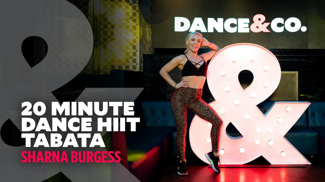 Sharna Burgess - 20 Min Dance HIIT - Tabata