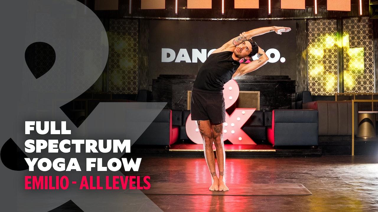 Emilio - Full Spectrum Yoga - All Levels