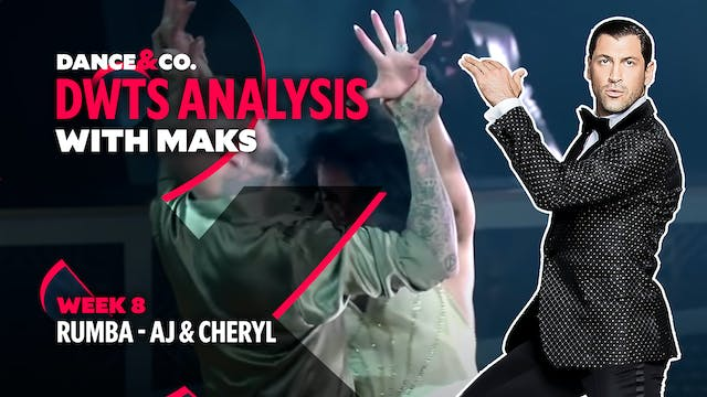 DWTS MAKS ANALYSIS: Week 8 - AJ Mclea...